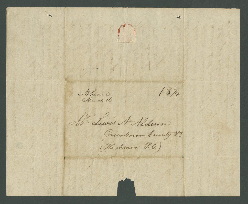 Joseph B. Miles to Lewis Allen Alderson - 15