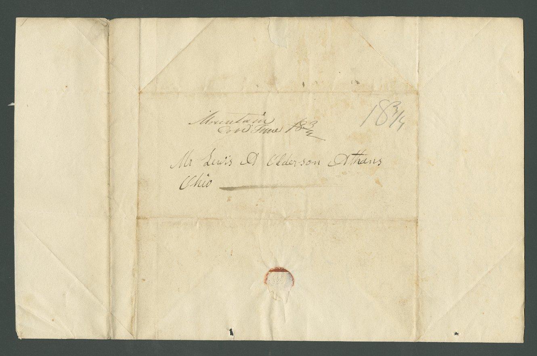 Jasper M. Franklin to Lewis Allen Alderson - 3