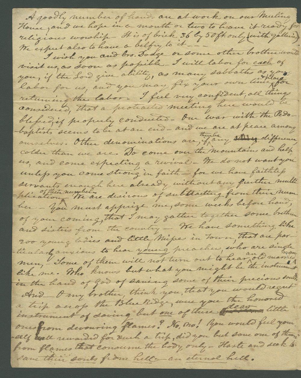 Joseph L. Baker to Lewis Allen Alderson - 2
