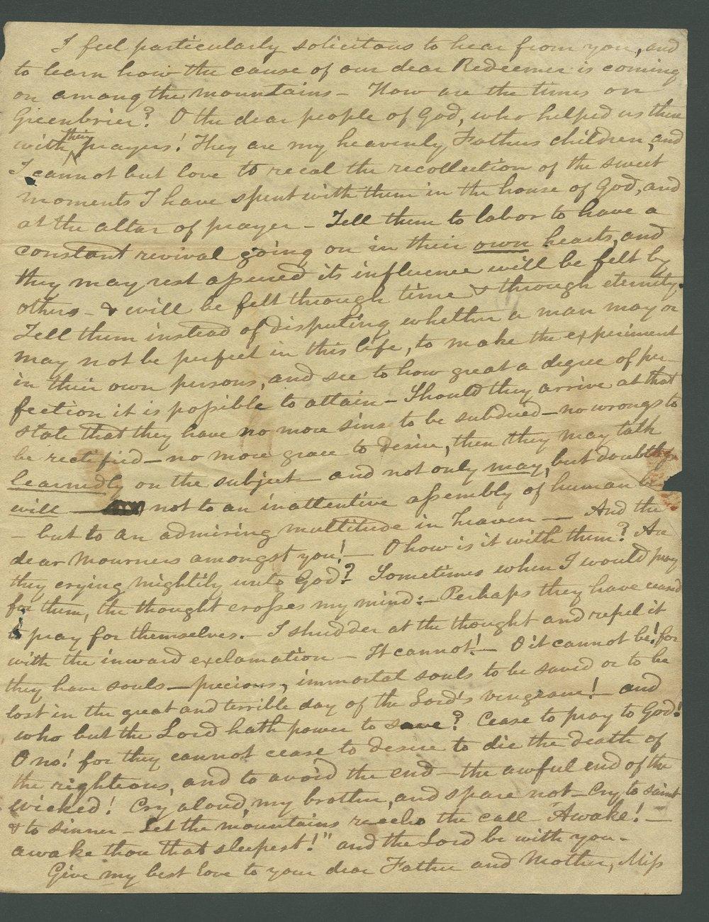 Joseph L. Baker to Lewis Allen Alderson - 3
