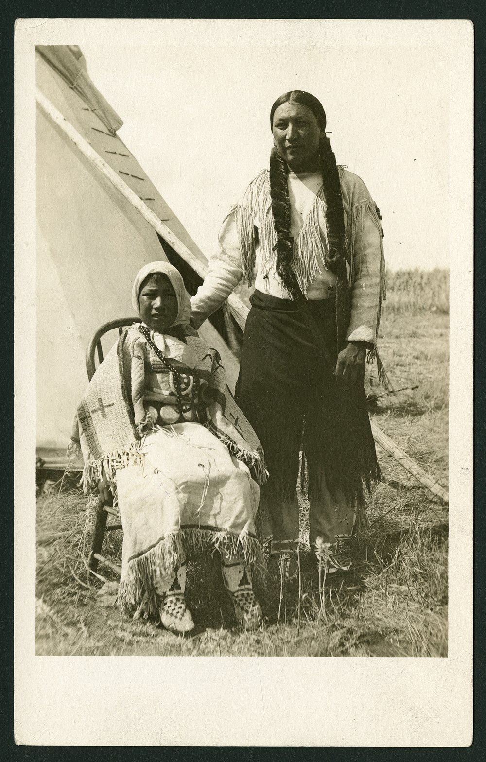 Paul Little Man, Cheyenne Indian - 1