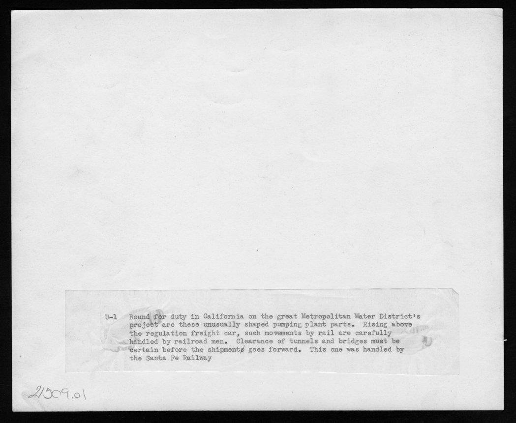 Atchison, Topeka, & Santa Fe Railway Company's flatcar - 2