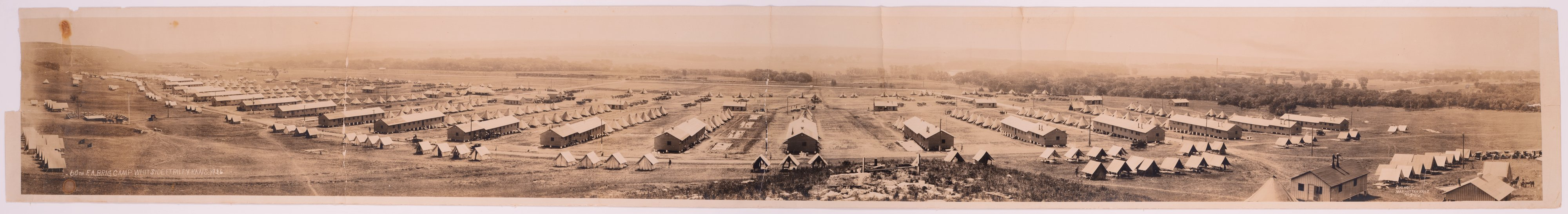 60th Field Artillery Brigade at Camp Whitside