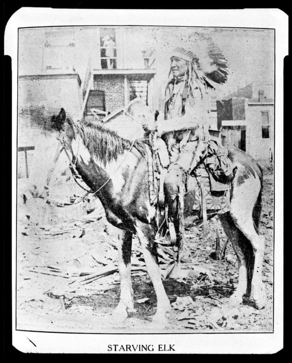 Starving Elk, Cheyenne Indian