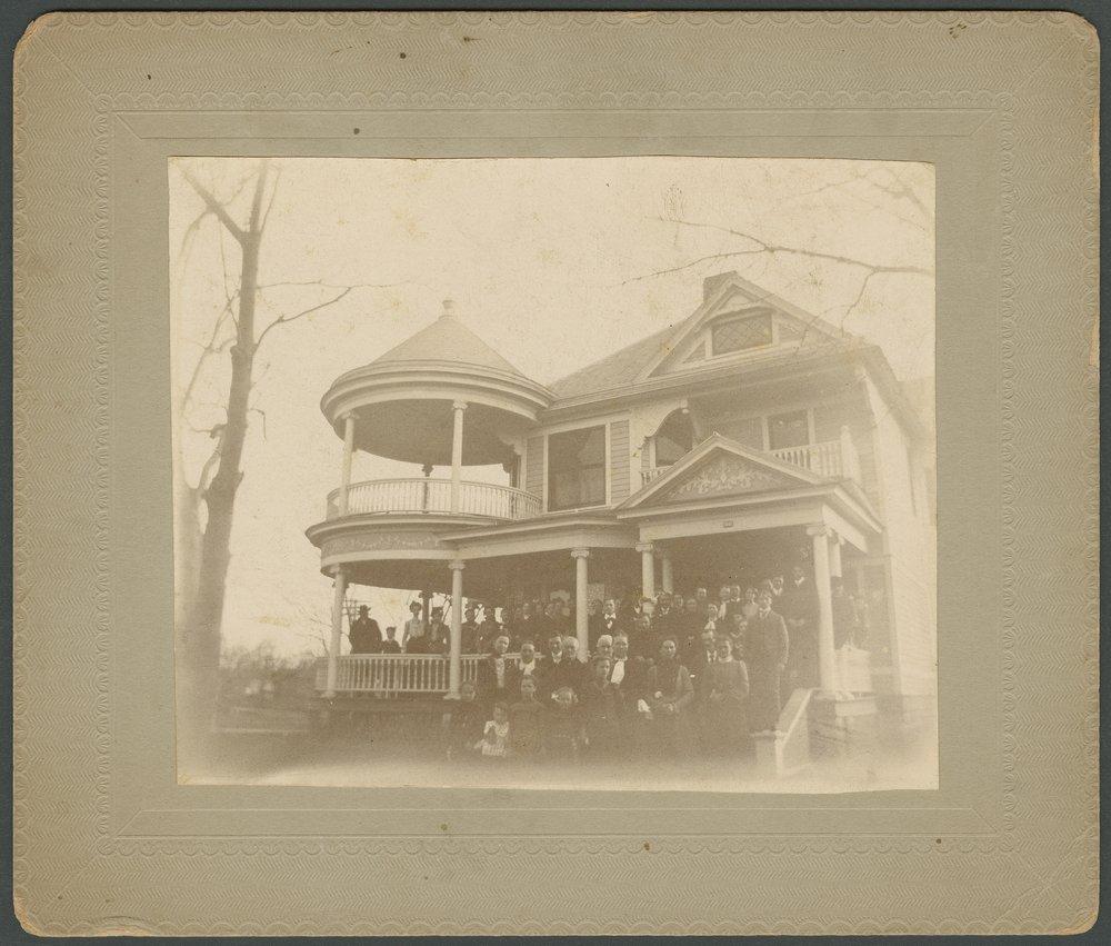 Dr. Rea's home in Wellington, Kansas