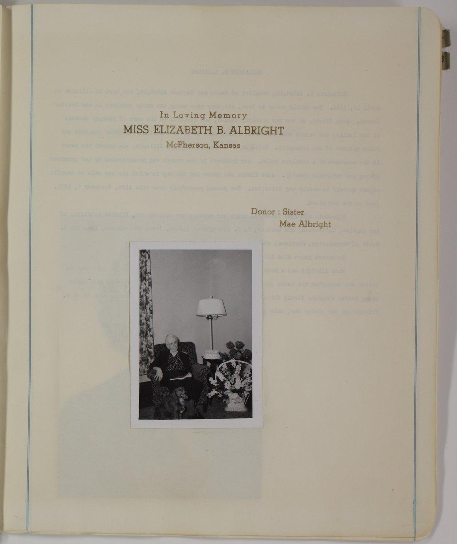 Kansas Woman's Christian Temperance Union memory book - 5