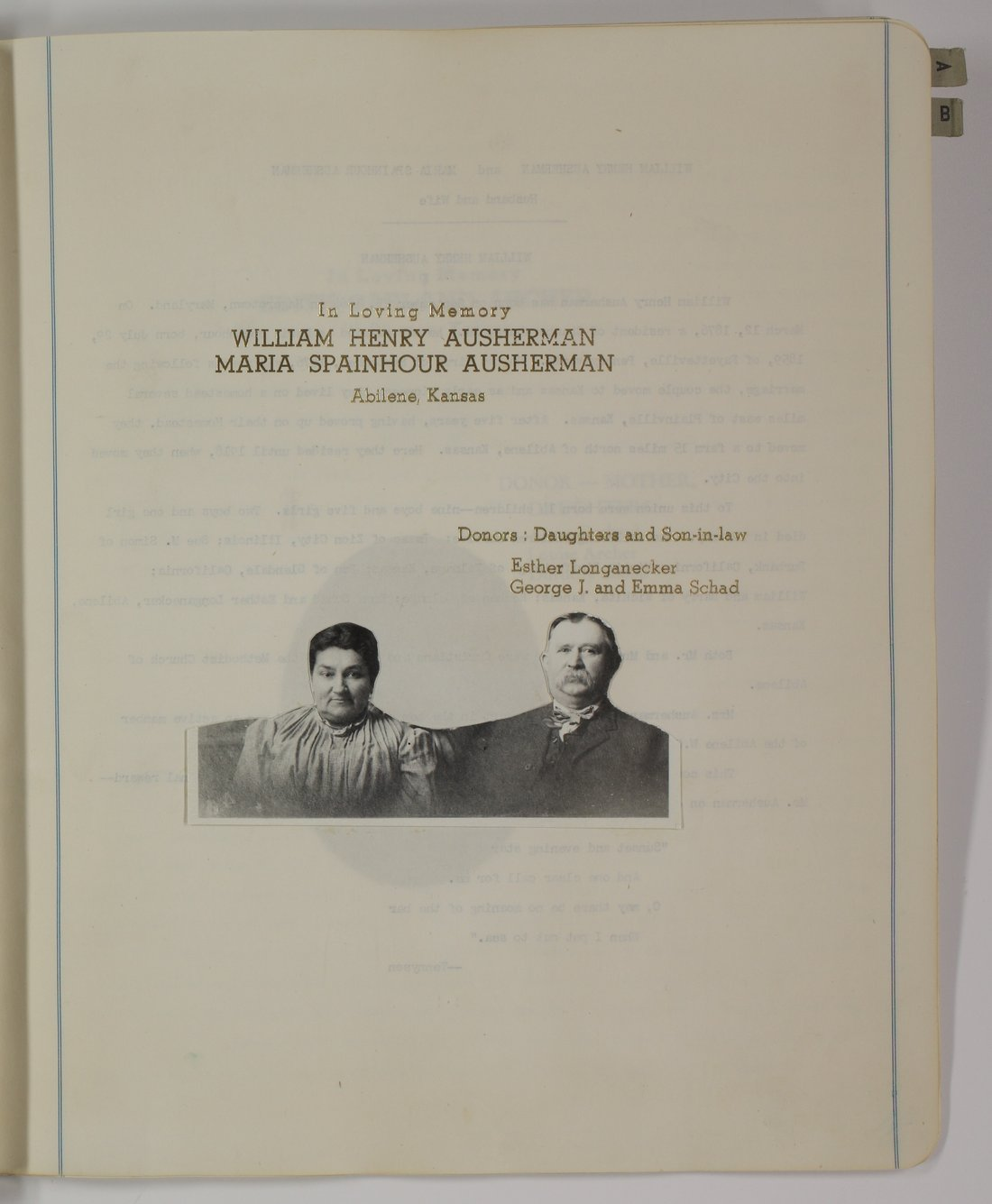 Kansas Woman's Christian Temperance Union memory book - 11