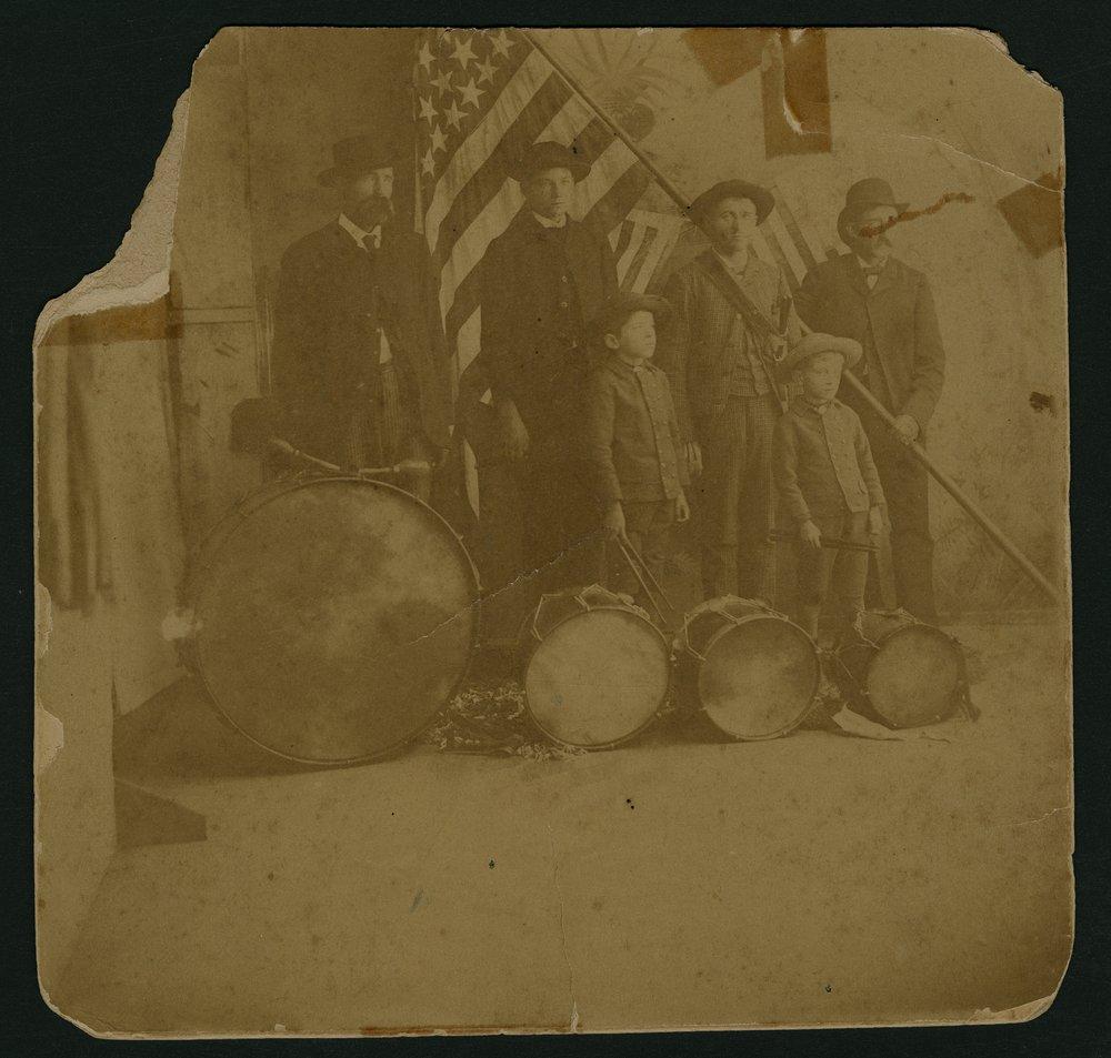Cowan drum corps at Saint Paul, Kansas - 1