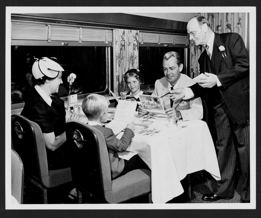 Atchison, Topeka & Santa Fe Railway Company's famous passengers - 1