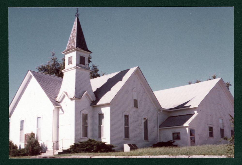 Methodist Church, Harveyville, Kansas - 1