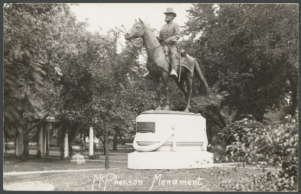 Major James B. McPherson, McPherson, Kansas - 1