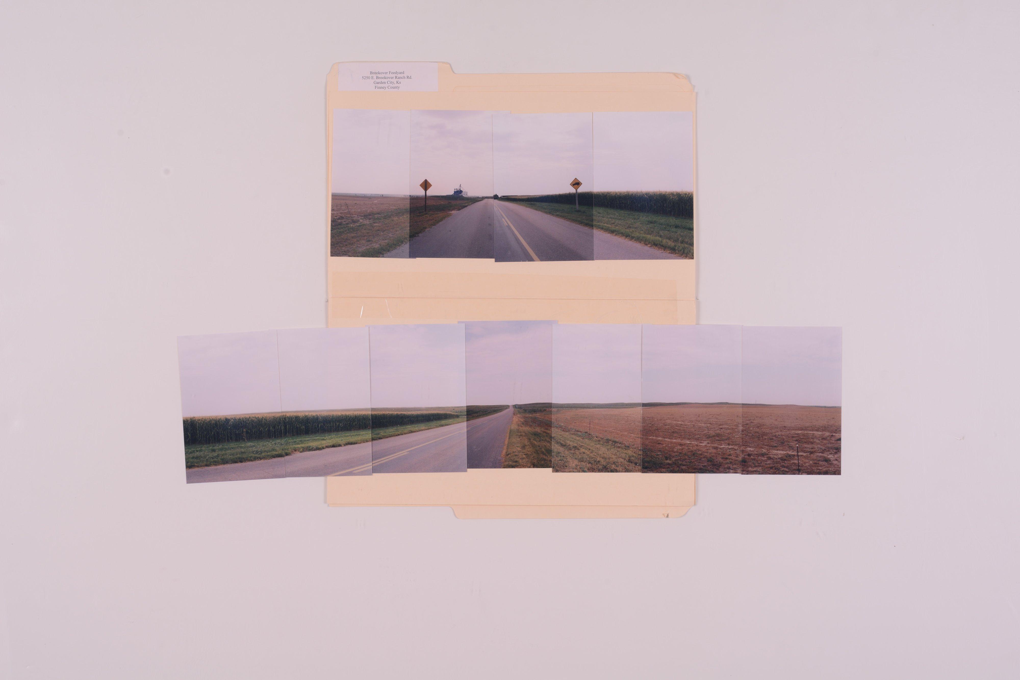 Kansas Film Commission site photographs, subject feedlots - grain elevators - 7