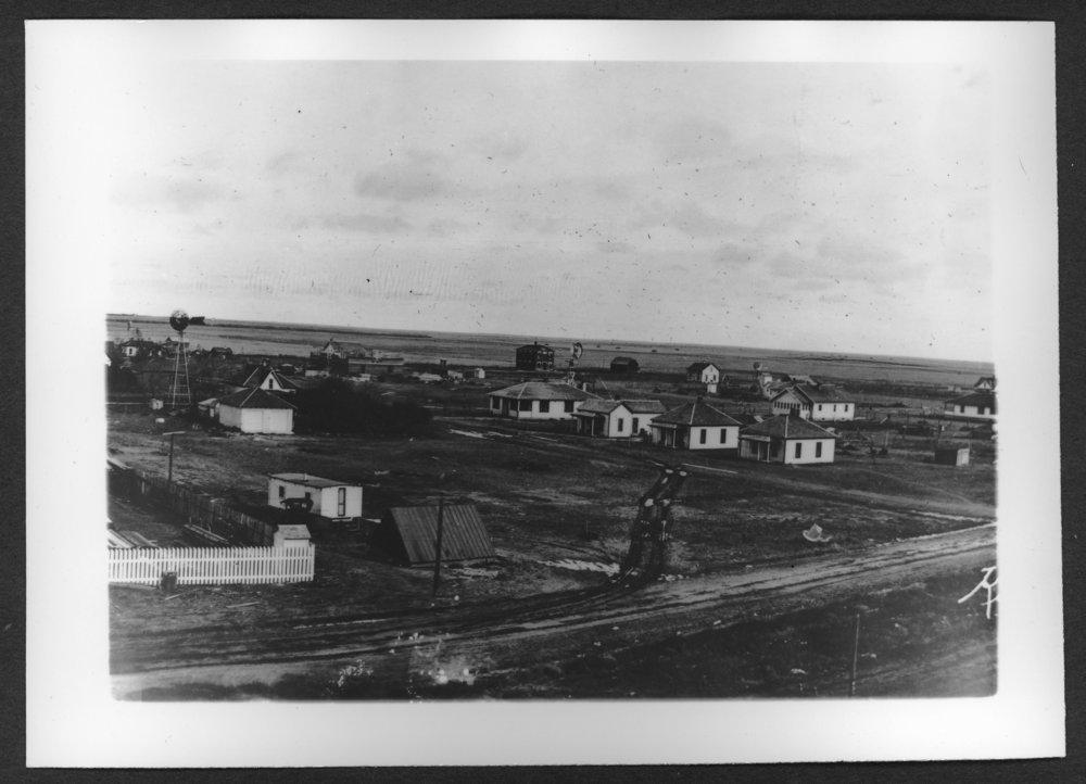 Scenes of Sherman County, Kansas - Panoramic view of Kanorado, Kansas.