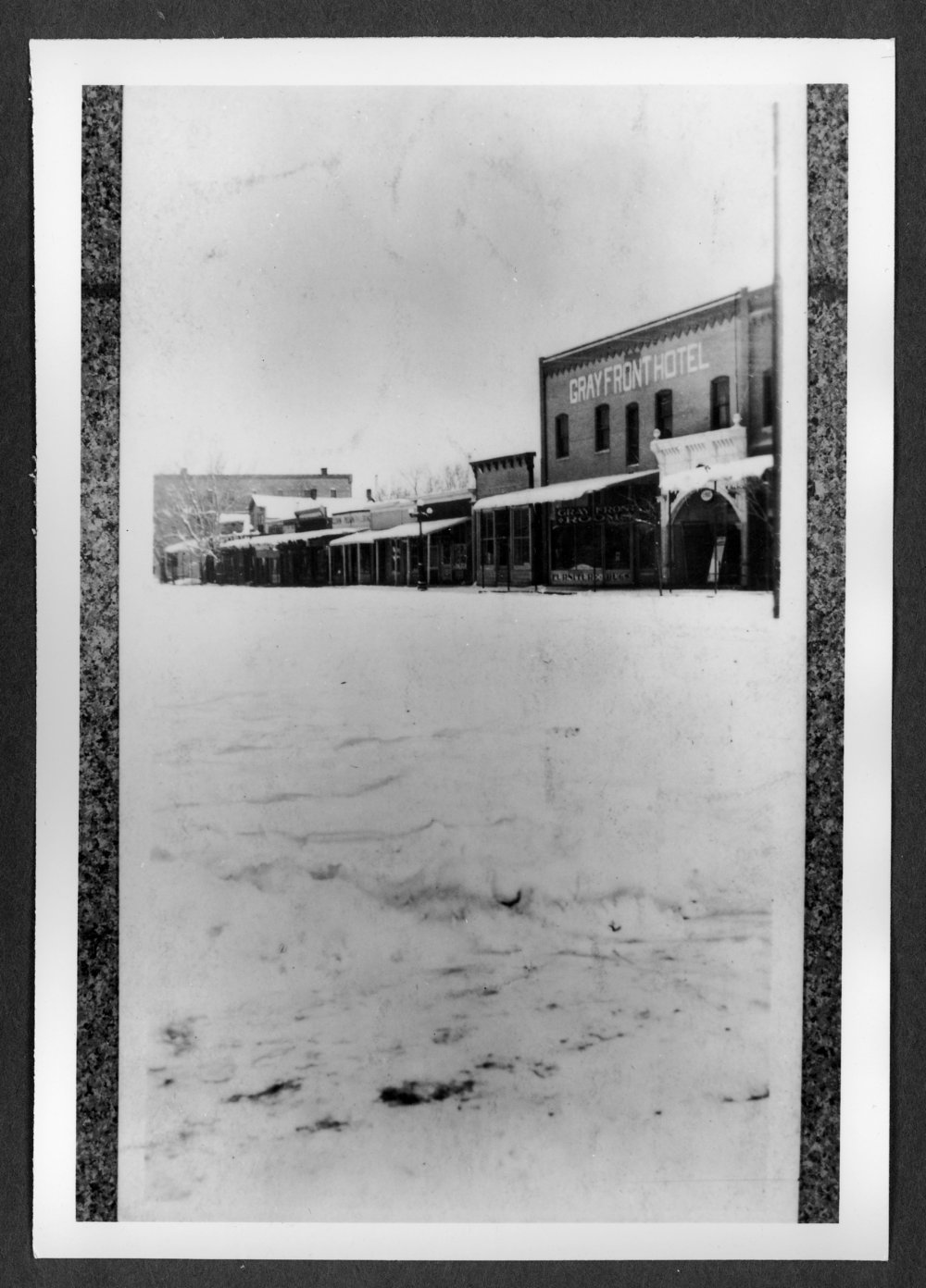 Scenes of Sherman County, Kansas - East side of Main, looking north from 11th Street, Goodland, Kansas.