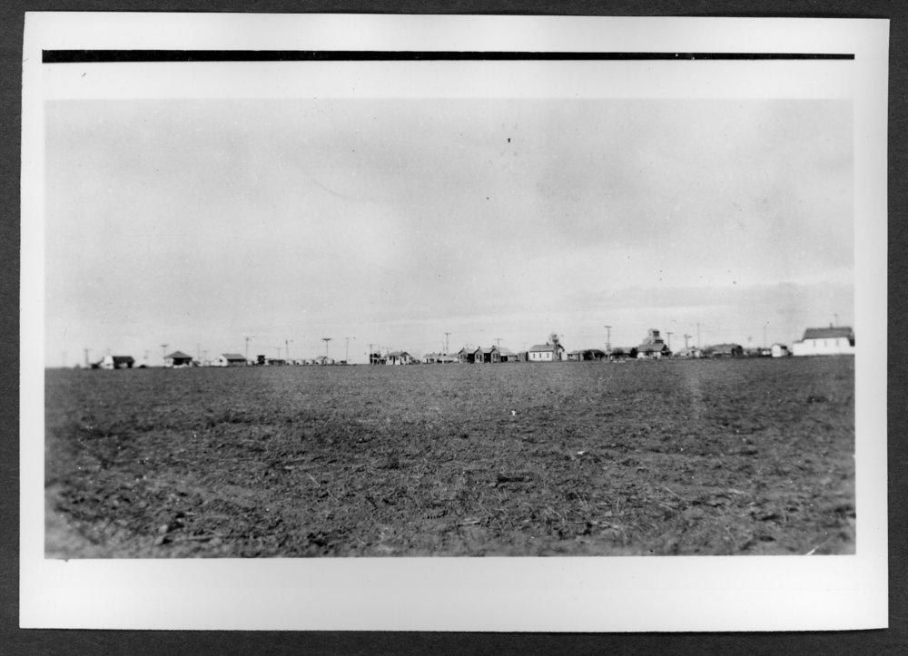 Scenes of Sherman County, Kansas - View of Edson, Kansas.