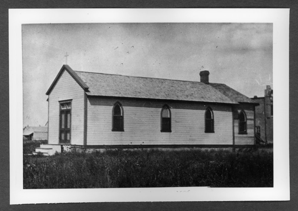 Scenes of Sherman County, Kansas - First Episcopal Church at 13th and Center Streets.