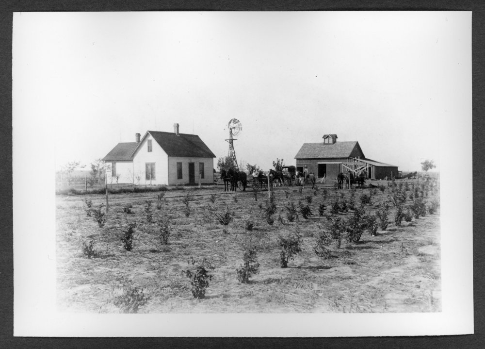 Scenes of Sherman County, Kansas - Harturg Ranch and Rosedale Ranch, Sherman County, Kansas.  The two ranches together totaled 640 acres.