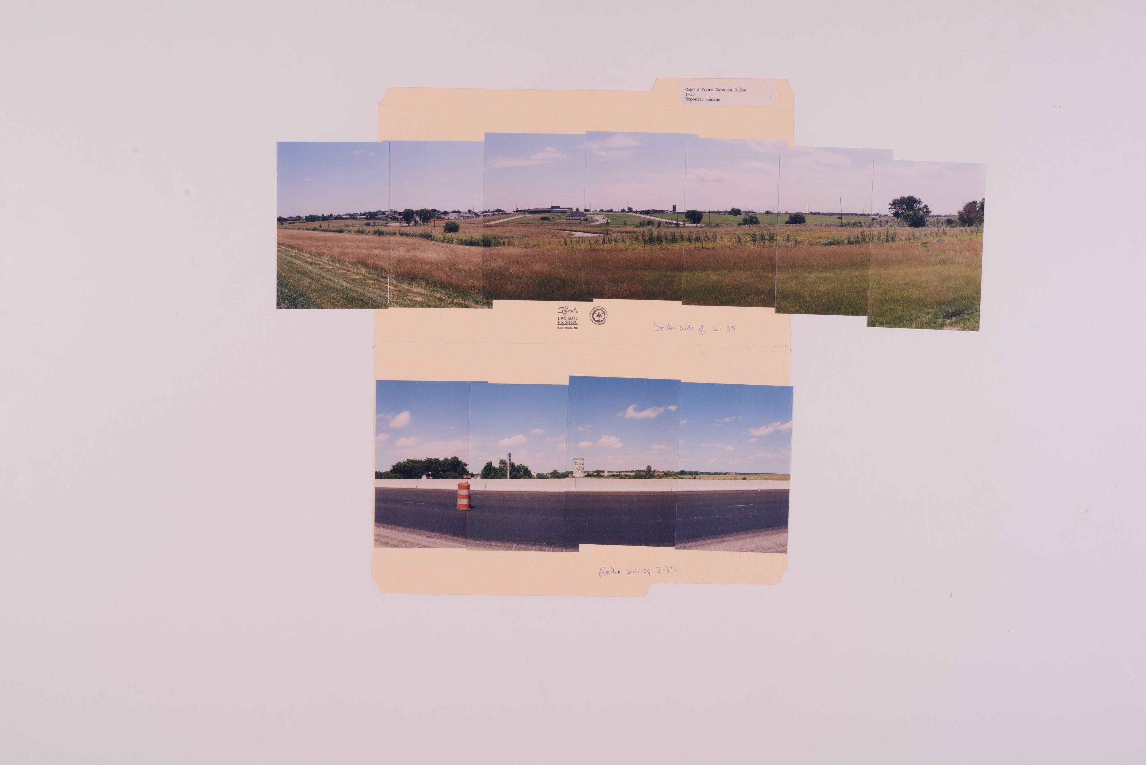 Kansas Film Commission site photographs, subject highway signs - hospitals - 2