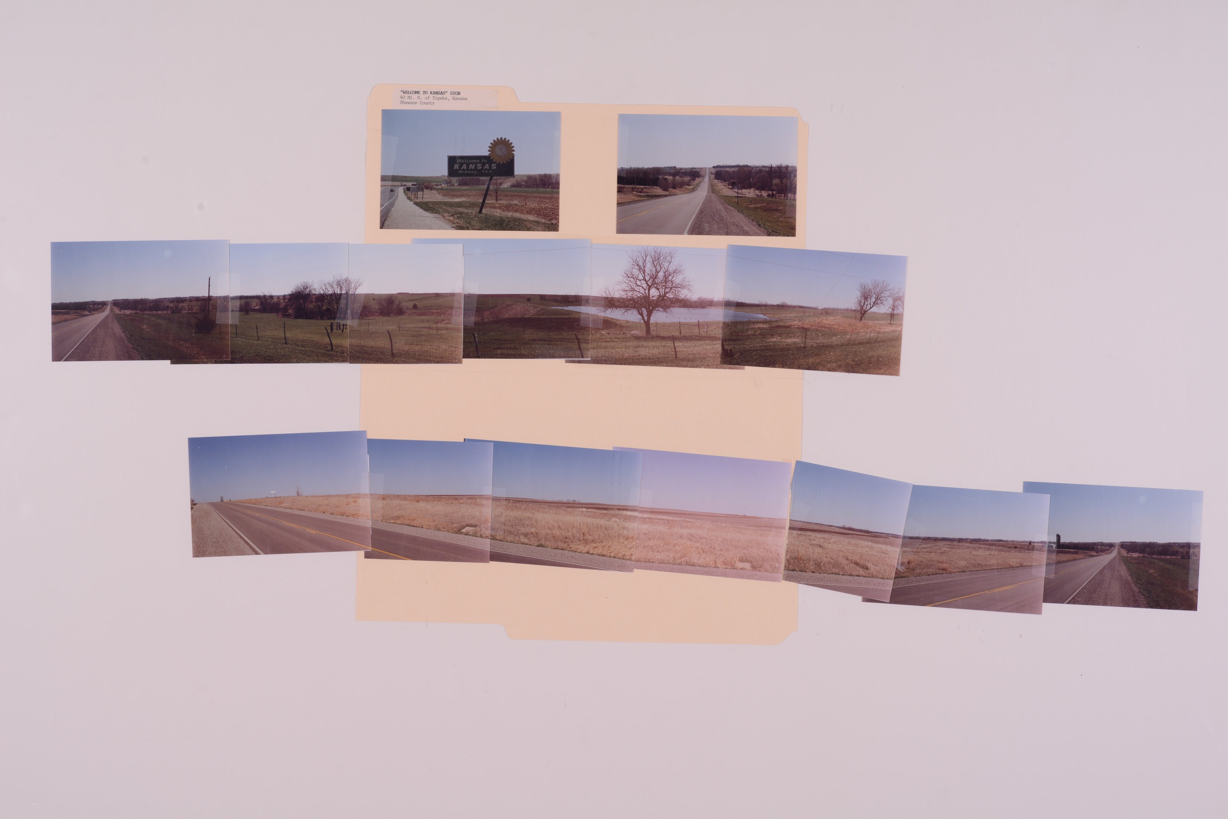 Kansas Film Commission site photographs, subject highway signs - hospitals - 6