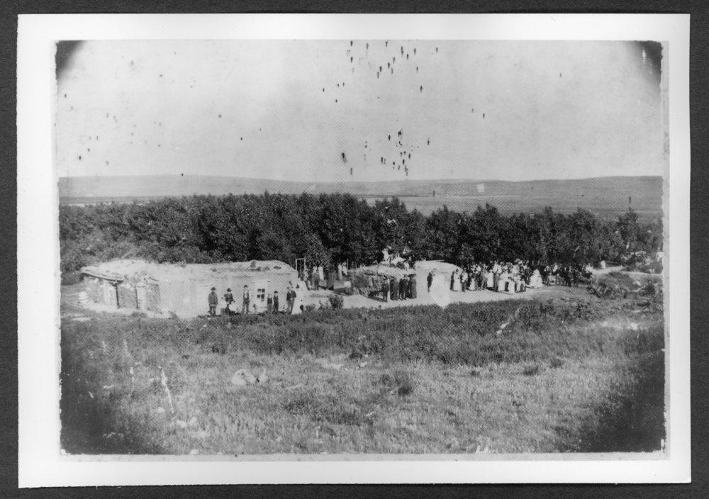 Scenes of Sherman County, Kansas - Clayton's Grove, July 4, 1892.