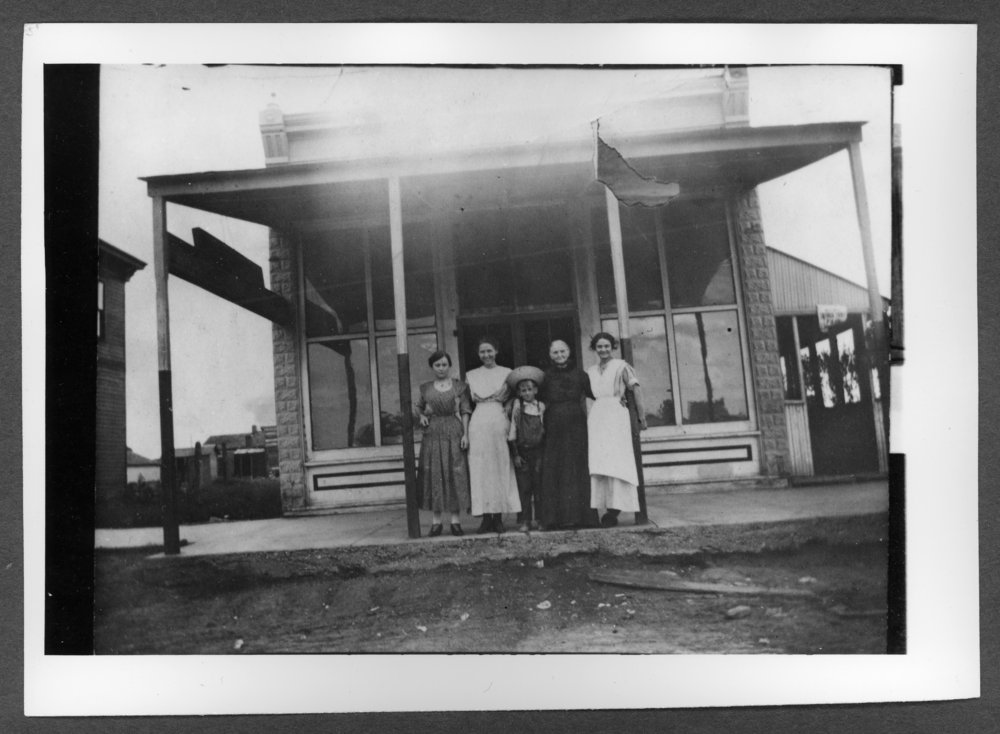 Scenes of Sherman County, Kansas - Coffee house on west side of Main between 16th and 17th streets.