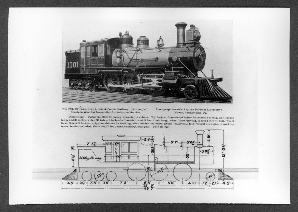 Scenes of Sherman County, Kansas - Engine 1001, nicknamed