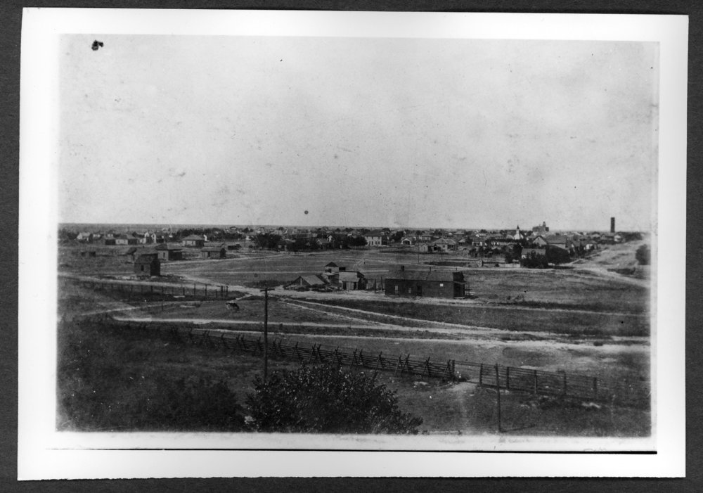 Scenes of Sherman County, Kansas - A view of Goodland from the coal chutes.
