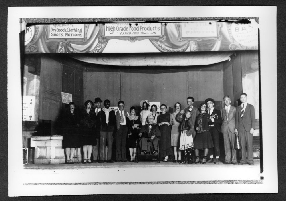 Scenes of Sherman County, Kansas - Goodland home talent play