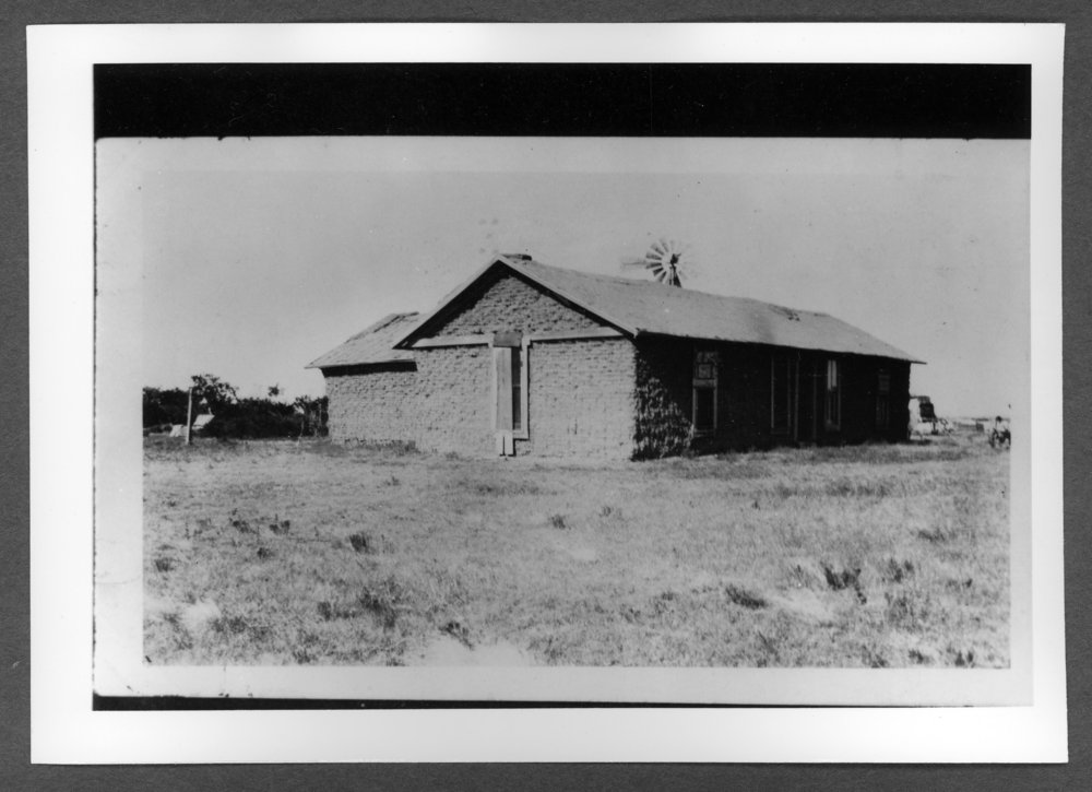 Scenes of Sherman County, Kansas - Home of Josephine Hollenbeck near Brewster