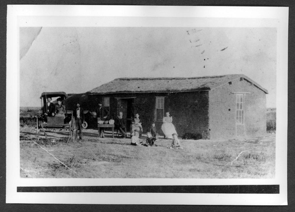 Scenes of Sherman County, Kansas - George F. Hayden homestead.