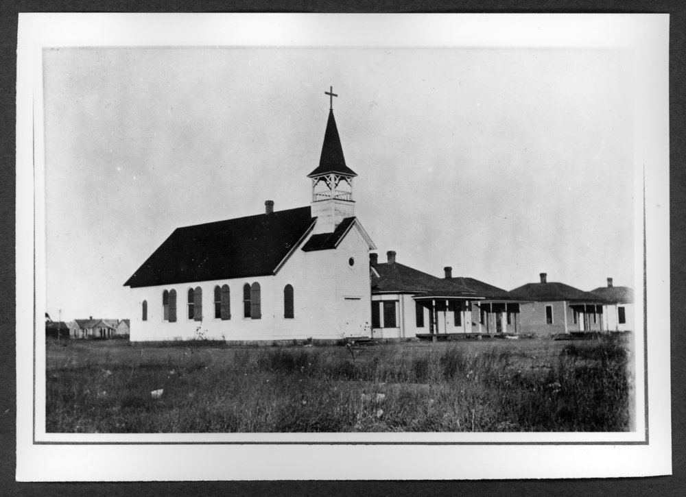 Scenes of Sherman County, Kansas - Second Catholic Church, northeast corner of 13th and Sherman.