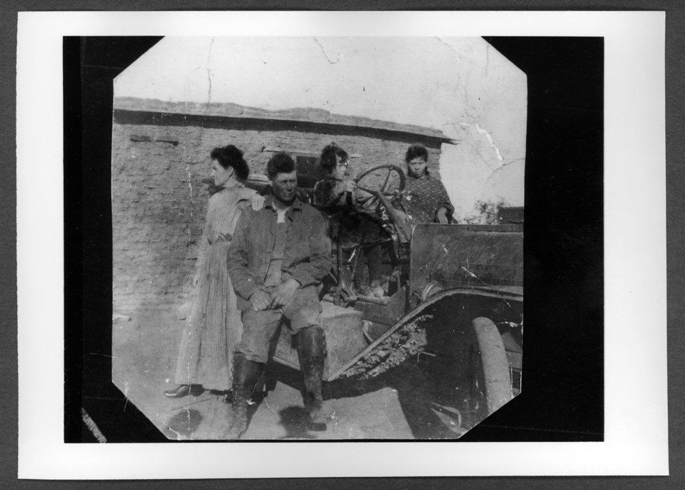 Scenes of Sherman County, Kansas - Walter Wilson homestead, about 1910.