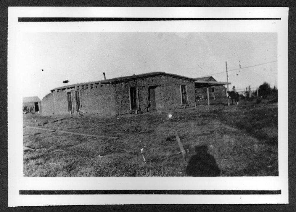 Scenes of Sherman County, Kansas - T.C. Dillinger soddie.