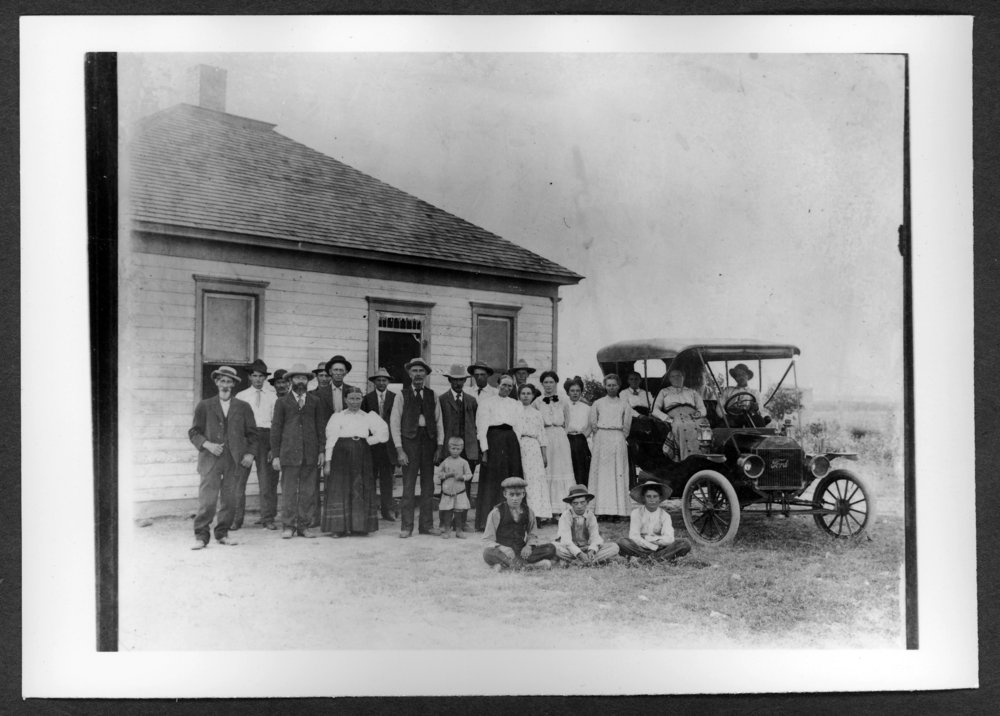 Scenes of Sherman County, Kansas - Amos family