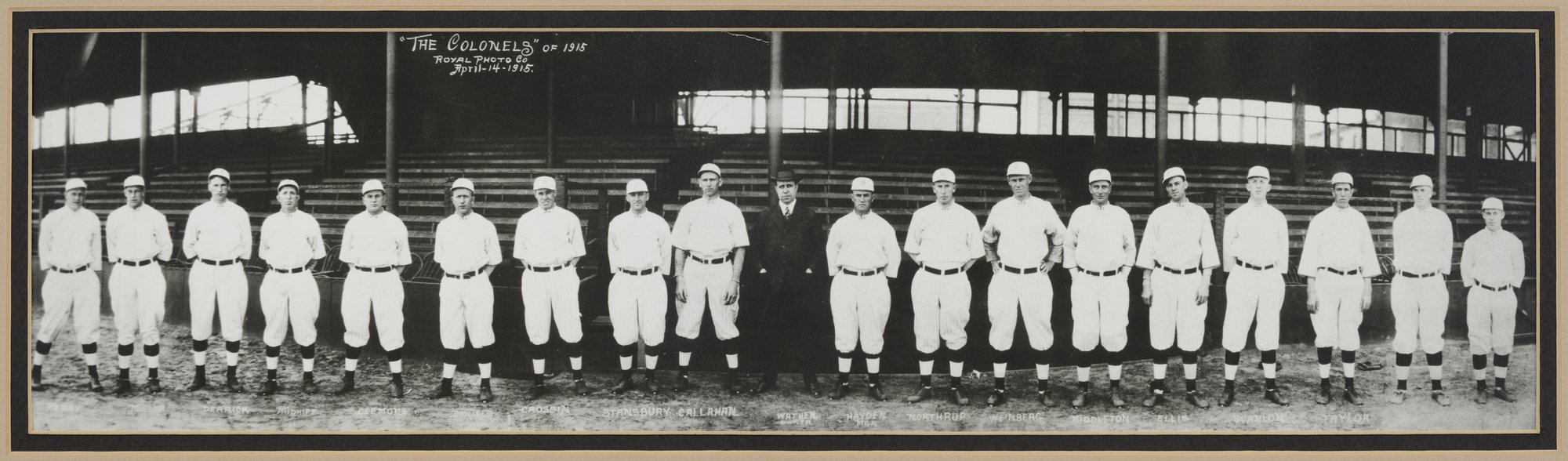 Louisville Colonels baseball team, Louisville, Kentucky