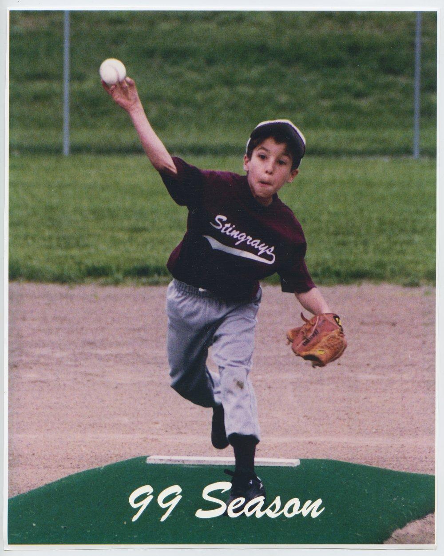 Justin Ives of the Stingrays baseball team in Topeka, Kansas
