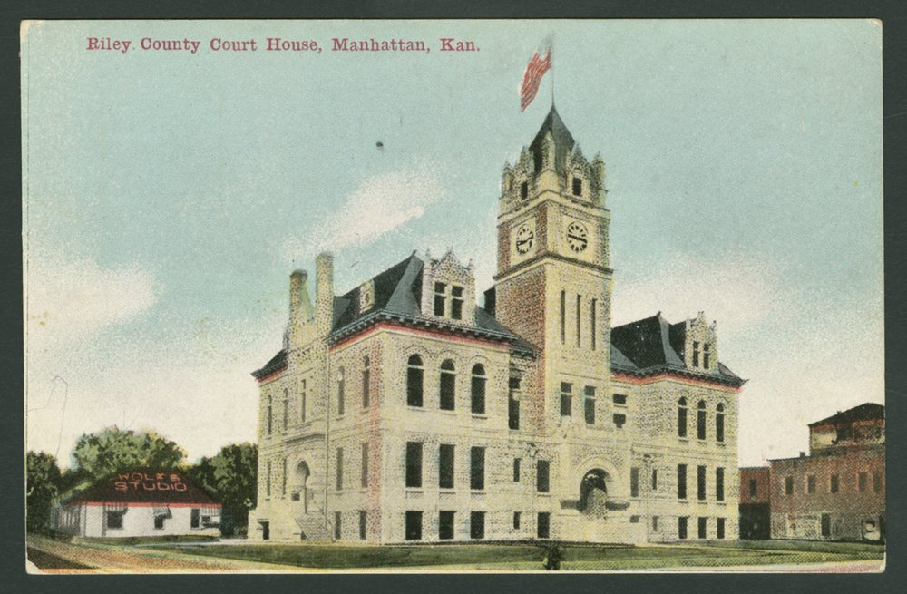 Riley County Courthouse - *2 front