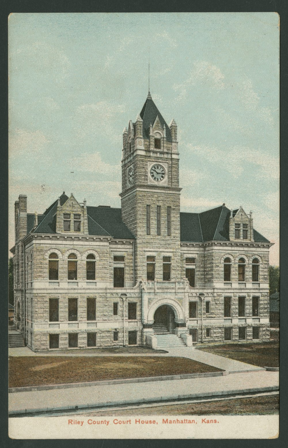 Riley County Courthouse - *3 front