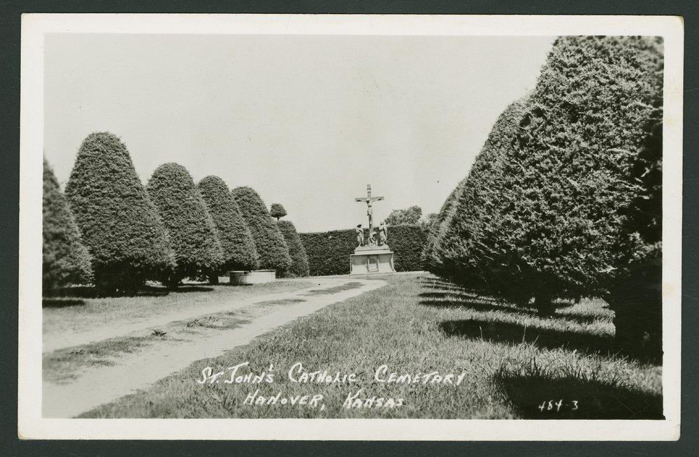 St. John's Catholic cemetery in Hanover, Kansas - 1