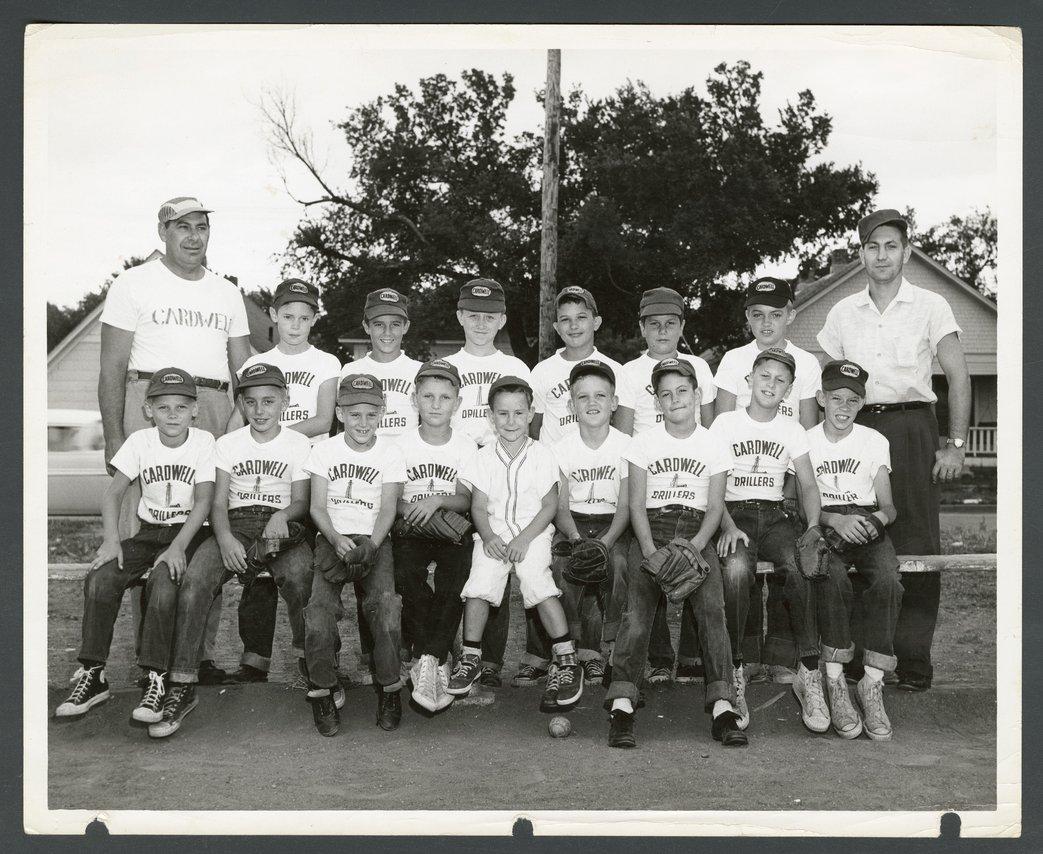 Cardwell Drillers baseball team in Wichita, Kansas - 1