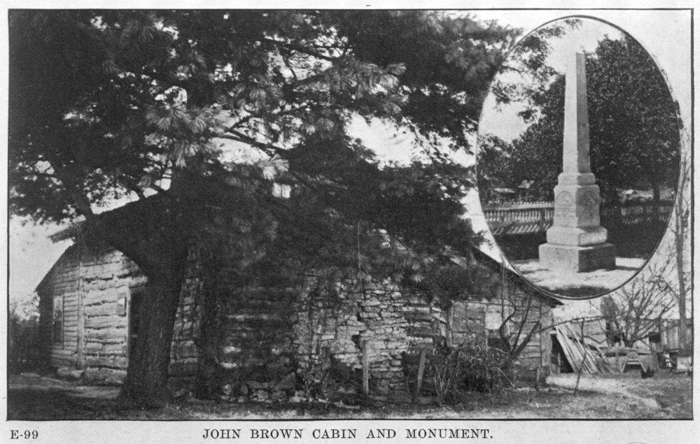 Adair-Brown cabin, Osawatomie, Kansas