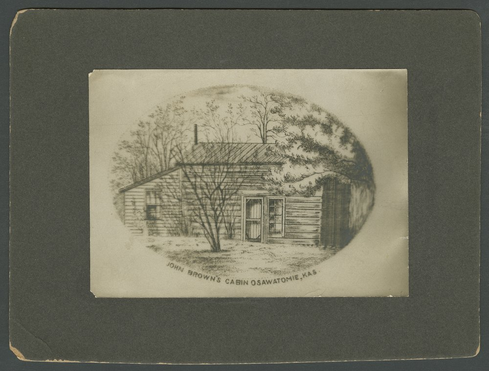 Adair-Brown cabin, Osawatomie, Kansas - 1