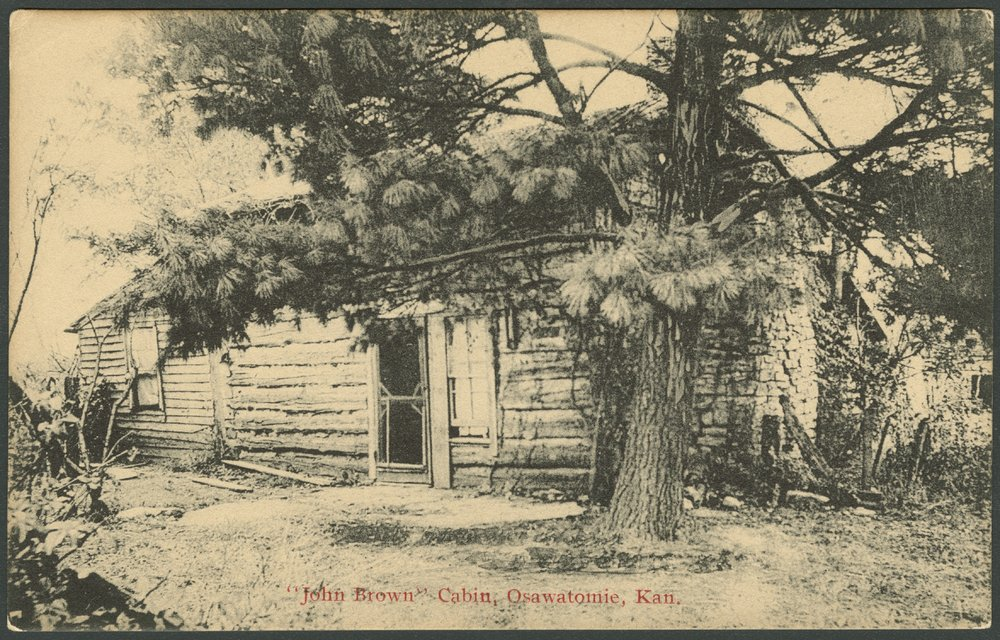 Adair-Brown cabin, Osawatomie, Kansas - 3
