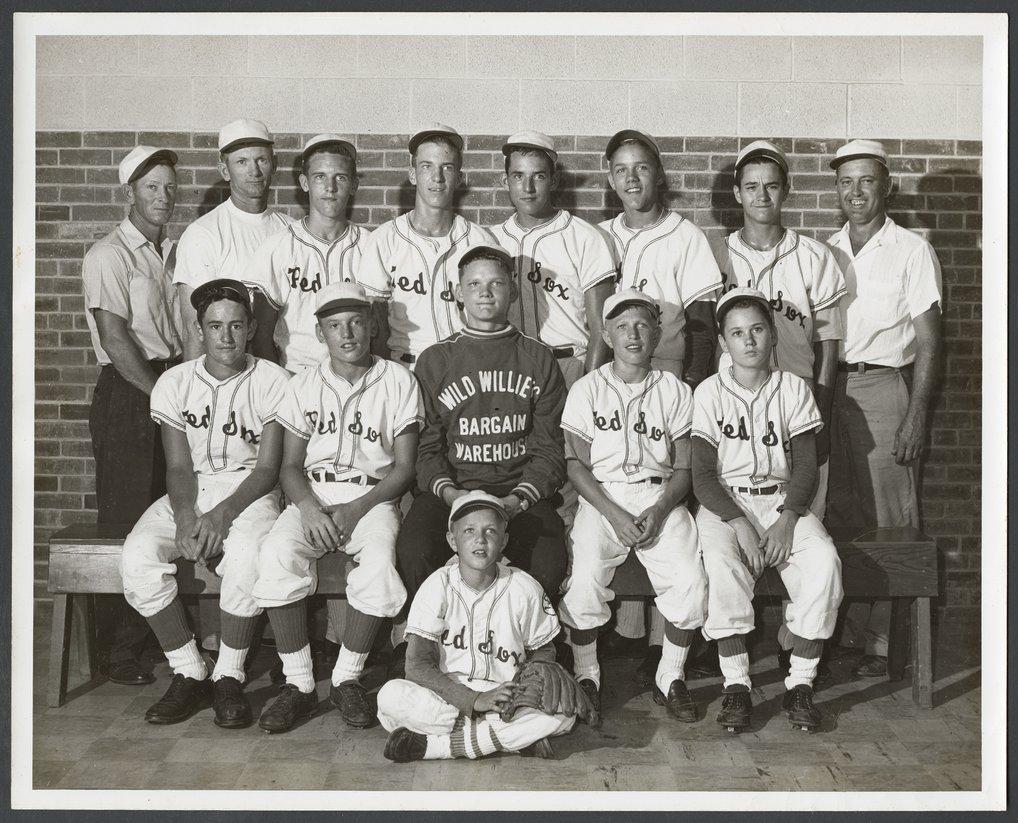 Red Sox youth baseball team in Topeka, Kansas - 1