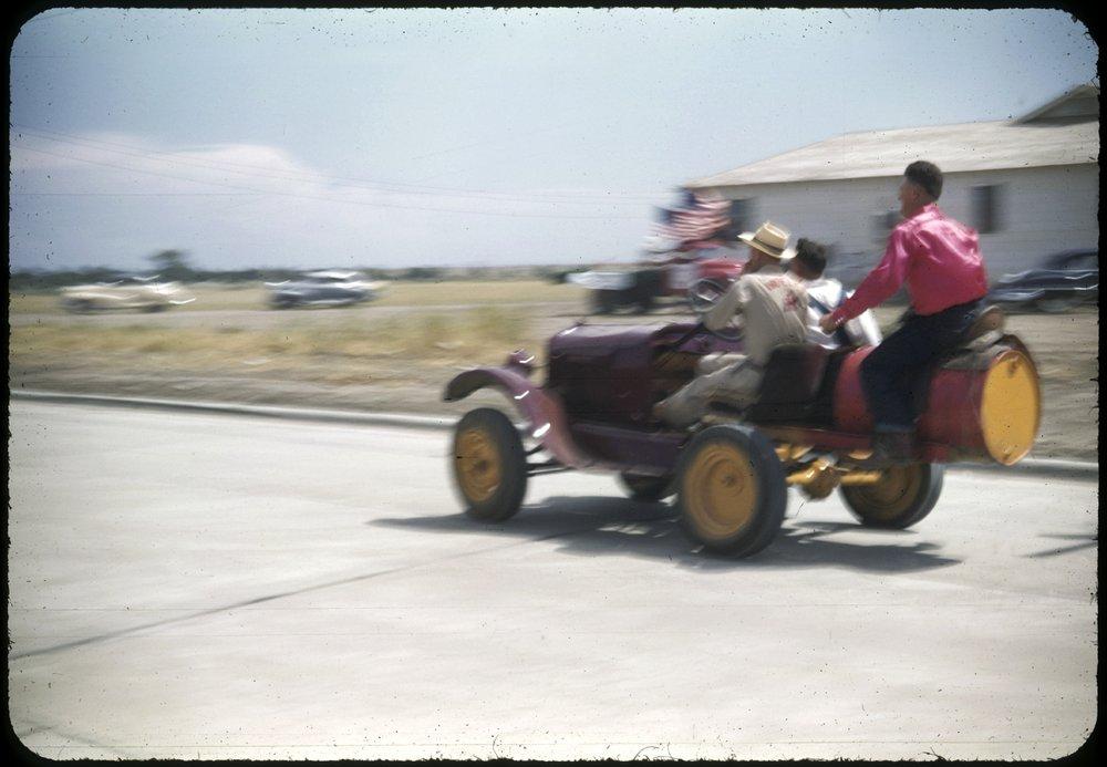Bucking Ford in Russell, Kansas - Kansas Memory - Kansas