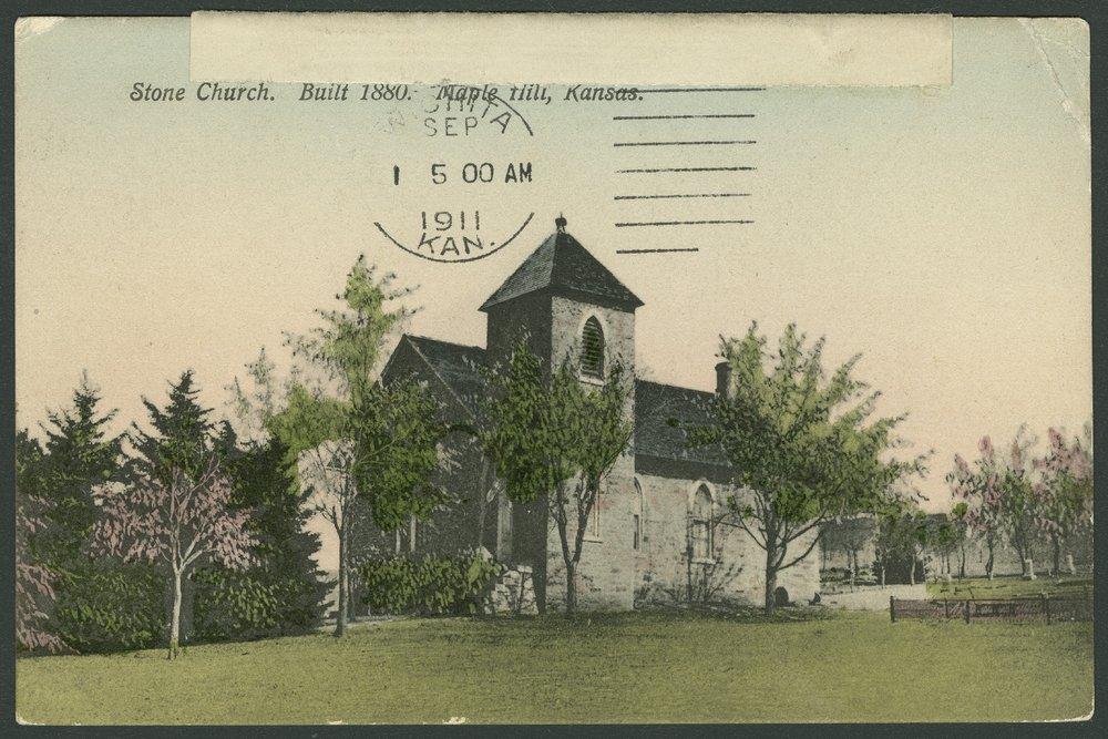 Congregational Church in Maple Hill, Kansas - 1