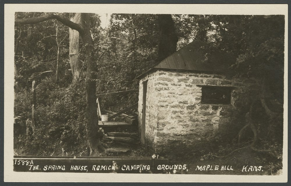 Romick camping grounds in Maple Hill, Kansas - 1