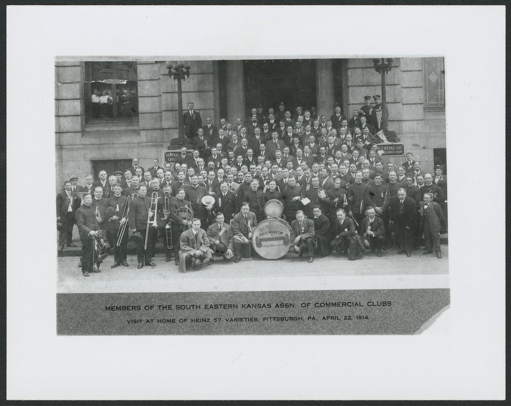 South Eastern Kansas Association of Commercial Clubs at Pittsburgh, Pennsylvania - 1