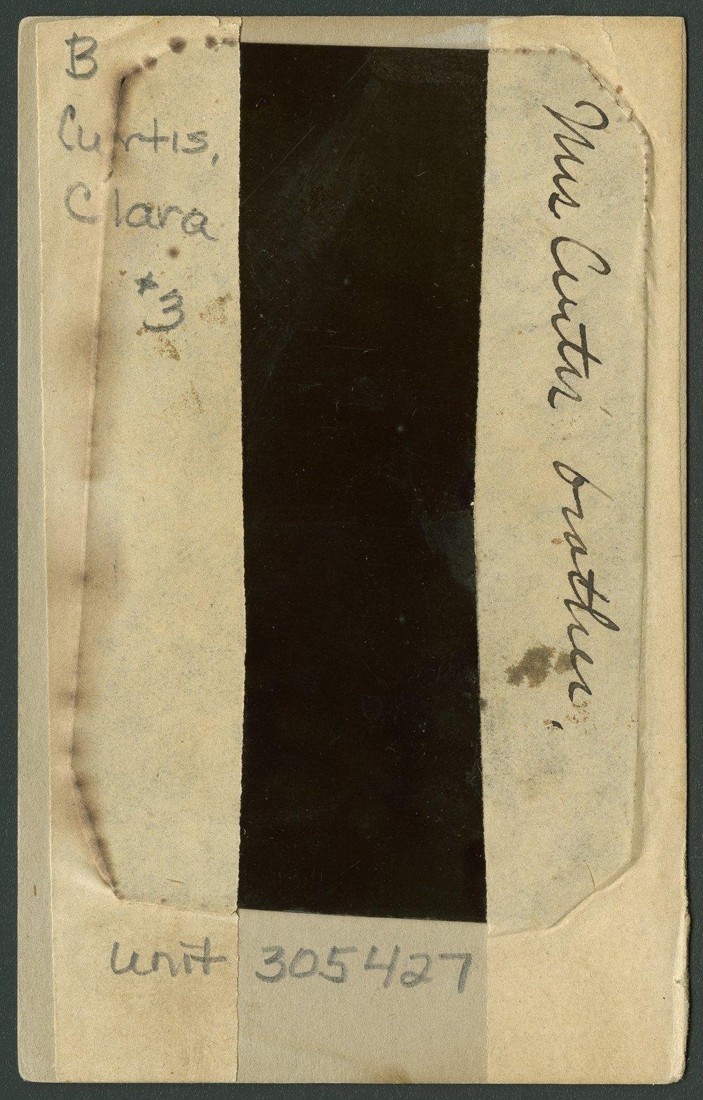 Clara Curtis' brother - 2