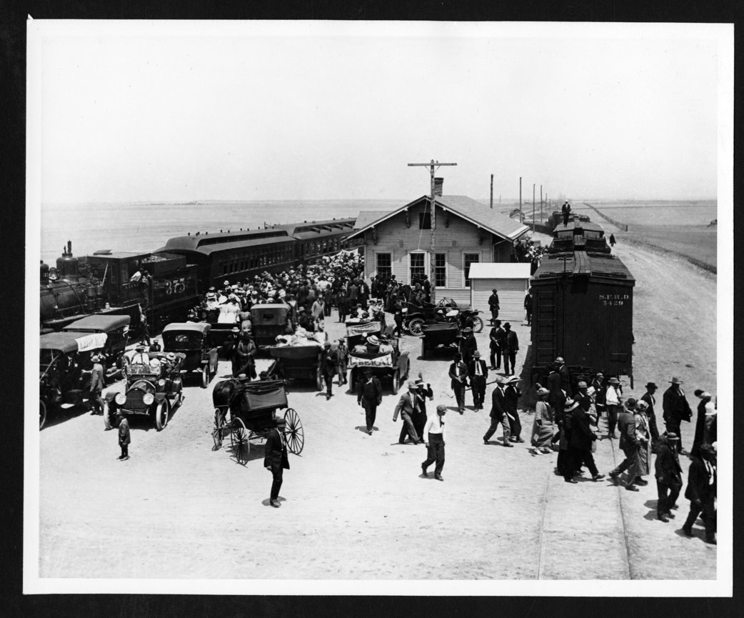 Excursion trains, Hugoton, Kansas - 3